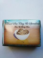 Dead Sea Clay & Spirulina Body Bar