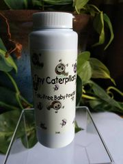 Tiny Caterpillars Talc-Free Baby Powder
