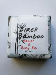 Black Bamboo Facial and Body Bar