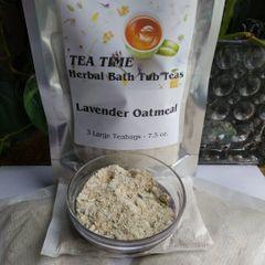 Tea Time Herbal Bath Tub Teas - Lavender Oatmeal