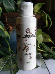 Tiny Caterpillars Baby Oil