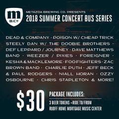 Concert Bus: Ozzy Osbourne (9/23/2018)