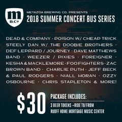 Concert Bus: Niall Horan (8/26/2018)