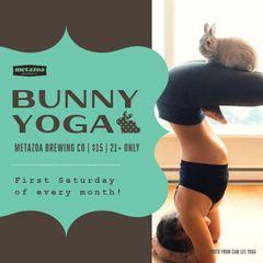 Bunny Yoga - November 3, 2018
