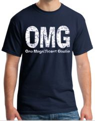 OMG - One Magnificent Goalie T-shirt (web)