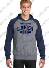 Laker Hockey Raglan Hoodie