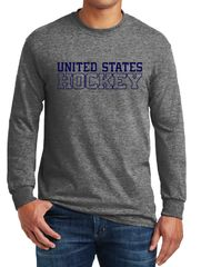 United States Hockey Long Sleeve T-shirt