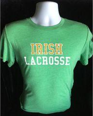 Irish Lacrosse Super Soft Green T-shirt