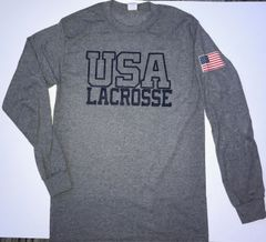 USA Lacrosse Long Sleeve T-Shirt