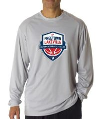 FLBC Shooting Shirt - Silver (no name)