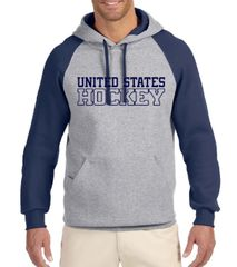 United States Hockey Raglan Hoodie