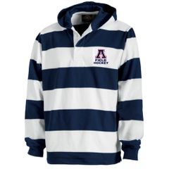 Apponequet Field Hockey Hooded Rugby Shirt