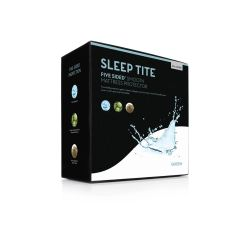 MALOUF FIVE SIDED SMOOTH MATTRESS PROTECTOR
