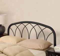 BLACK FINISH QUEEN/FULL HEADBOARD