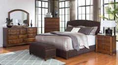 LAUGHTON HAND WOVEN BANANA LEAF PLATFORM BED