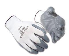 Nitirle Plam Gloves - Nylon Liner - [NF1001] - Various Sizes - Dozen