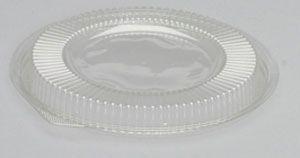 Silhouette Black/Clear Bowl Lid For 24 & 32 Oz - [BWS932] - 200/CS