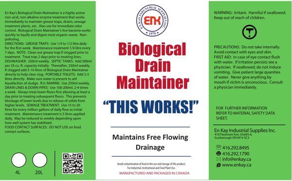 En Kay Biological Drain Maintainer 10L - 2/CS