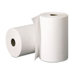"Roll Paper Towel [24220] - Classique - White - 8"" x 205' - 24RL/CS"