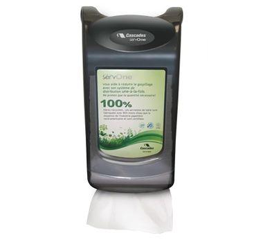 Dispenser for ServOne Napkins - Grey - [2575] - Counter & Wall