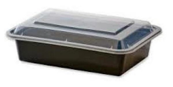 Microwavable Container - 24oz - Rectangular [L924]