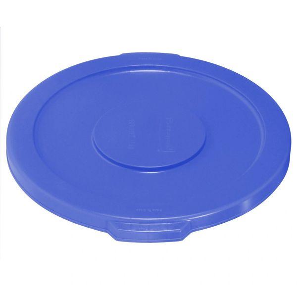 Rubbermaid - 1779700 - BRUTE 10 Gallon Blue Trash Can Lid
