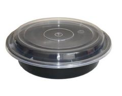 "Microwavable Container - 7"" Round Deep - [Lung Sang]"