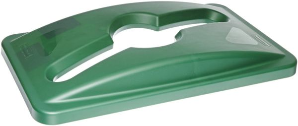 Rubbermaid - 1788373 - Slim Jim Single Stream Recycling Top for Slim Jim Containers