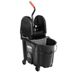 Rubbermaid - 1863898 - Executive WaveBrake Down Press Mop Bucket