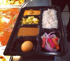 BlackThali - The Black Edition Thali - 200/CS