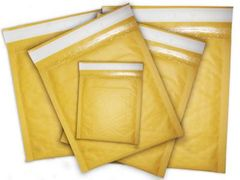 Bubble Mailers - Various Sizes