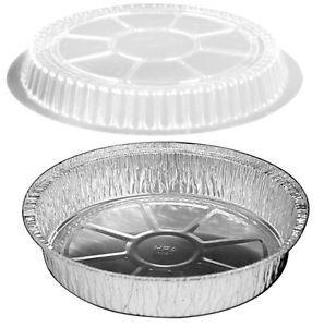 """HFA - [2047DL-500] - Dome Lid for 7"""" Round Container - 500/CS"""