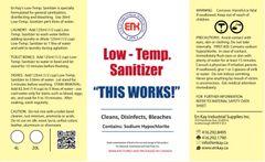 En Kay Low Temperature Sanitizer - 6% - 4L - 4/CS