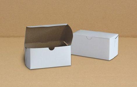 "Cake Box - 6"" x 3.25"" x 3"" - [0105] - Single Lock - 250/CS"