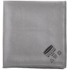 "Rubbermaid - 1867398 - Executive 16"" Glass Microfiber Cloth, Gray"