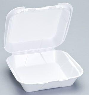 Foam Hinged Medium Snap-It Dinner Container - [SN240] - 200/CS