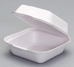 Harvest Fiber - Compostable Large Sandwich Container - 400/CS