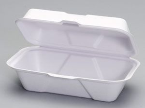 Harvest Fiber - Compostable Hoagie Container - 250/CS