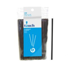 "Touch - 4.5 "" Plastic Coffee Stir Sticks - [92022] - 200/Box"