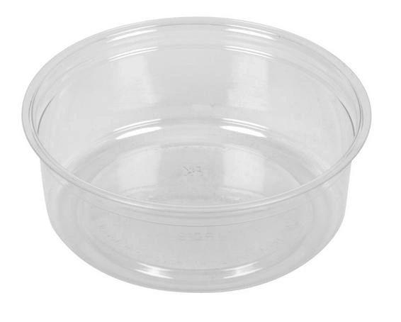 Clear Deli Container - 8oz - 500/CS