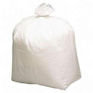 White Wastebasket Liners - 500/CS