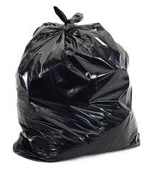 Black Garbage Bags - Various Sizes + Various Thickness - Case