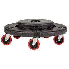 Rubbermaid - 264043 - Quiet Dolly For BRUTE Container - Black