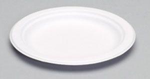 "Harvest Fiber - Compostable 6"" Snack Plate - 1000/CS"