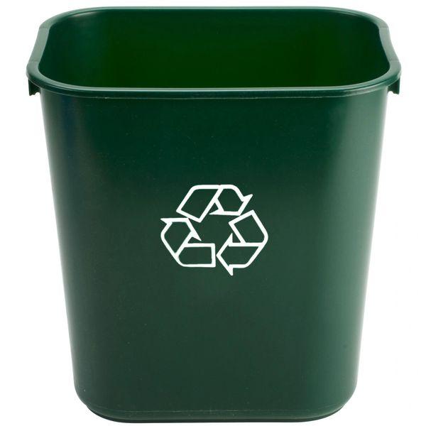 Rubbermaid - 1829412 - Wastebasket, Small - Green