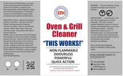 En Kay Oven & Grill Cleaner 4L - 4/CS