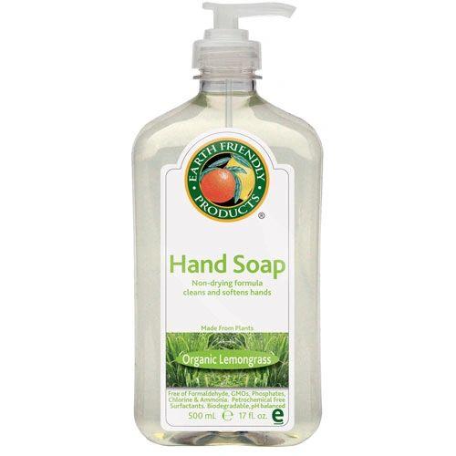 Earth Friendly Liquid Hand Soap - 500ml - 6 Bottles/Case