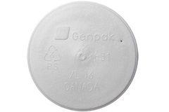 Genpak - [XL16-500] - Lids for Foam Food Container - 500/CS