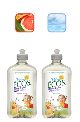 Disney Baby ECOS Natural Bottle & Dish Wash