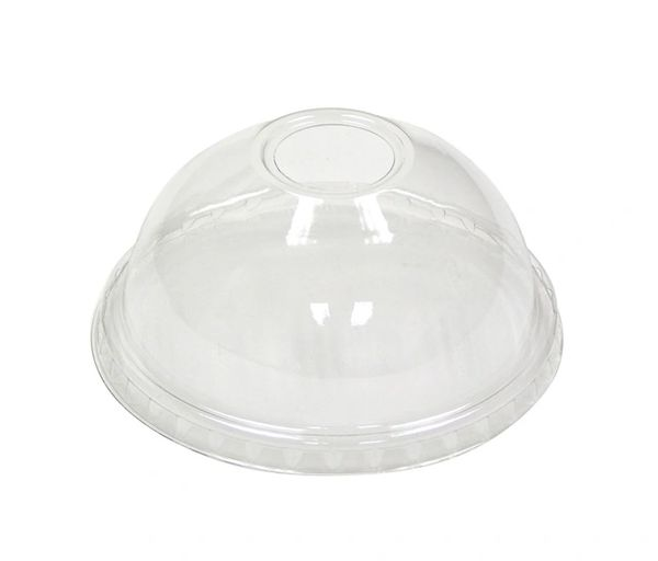 Pactiv - [YPDL20C] - Clear Dome Lid w/Small Hole - 900/CS